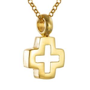 Σταυρός από Επιχρυσωμένο Ασήμι 925