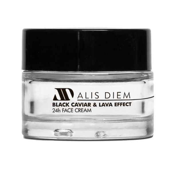 BLACK CAVIAR & LAVA EFFECT 24hour Face Mask