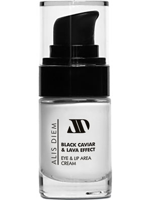 BLACK CAVIAR & LAVA EFFECT Eye & Lip Area Cream